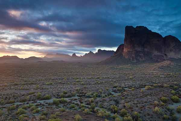 Eagletail Mountains Wilderness, Arizona, United States (credit: US Bureau of Land Management)
